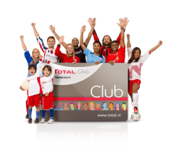 Total Clubactie: scoor extra euro's voor de club!